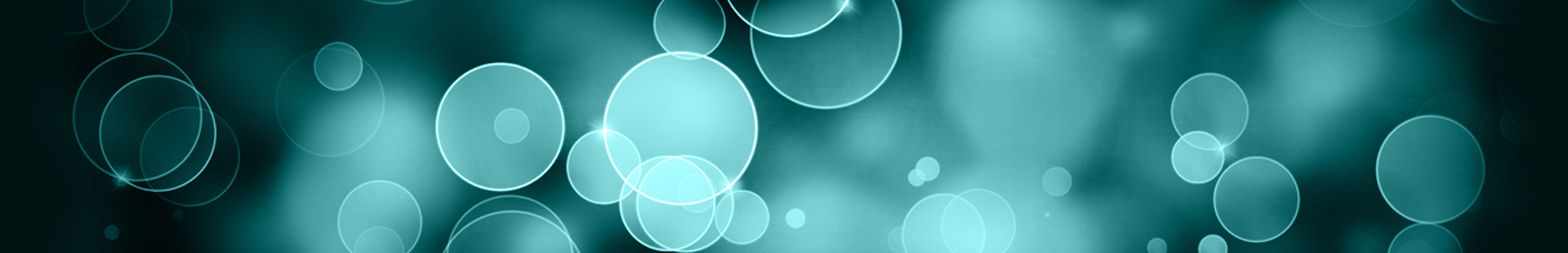 abstract banner-bubbles
