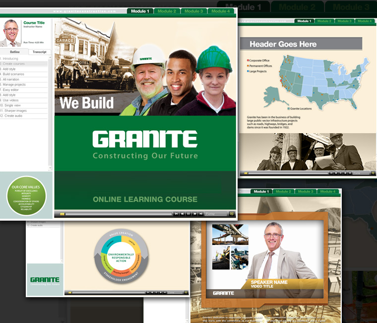 Granite Online Training Course Design & Development